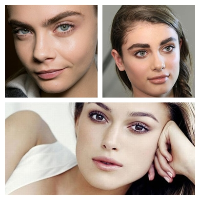 makeup trends full eyebrows